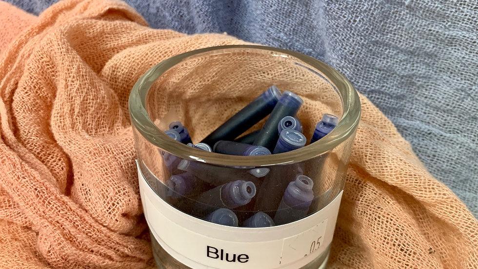 Fountain Pen Ink Refill - Blue