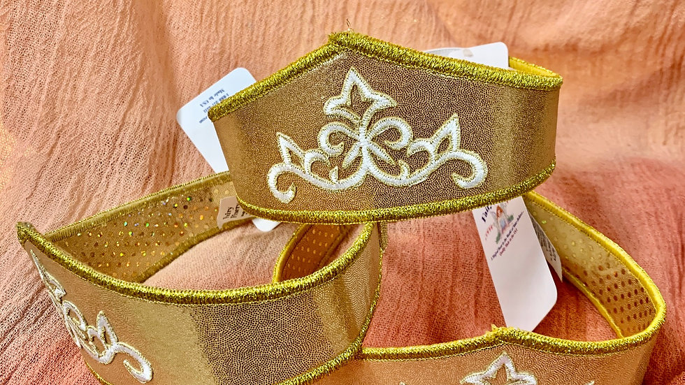 Fairy Finery Crown- Gold