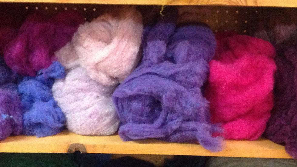1 oz Wool Batting bags