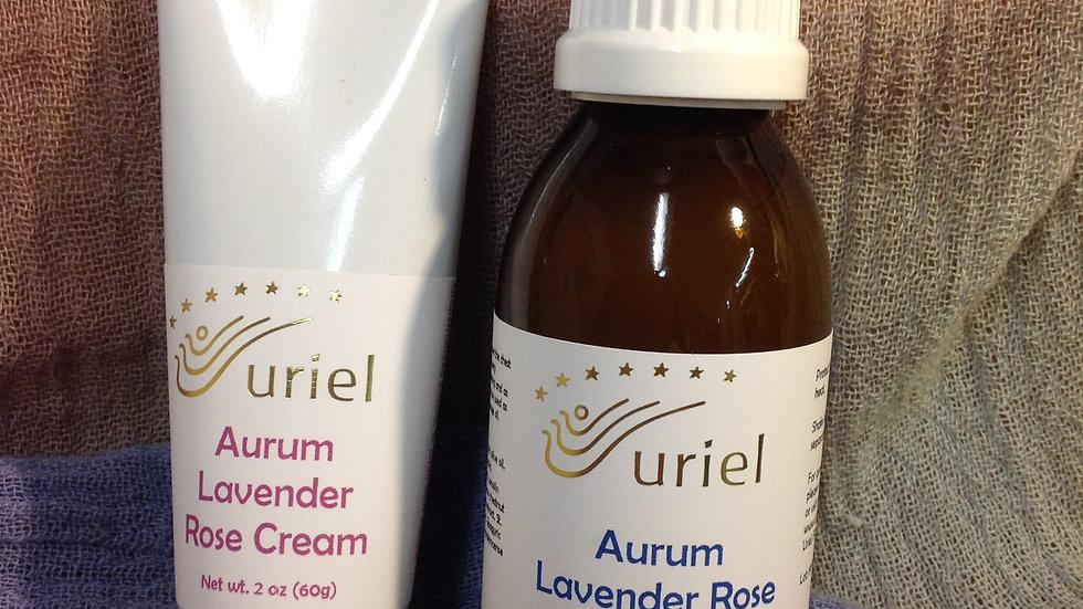 Aurum Lavender Rose Cream