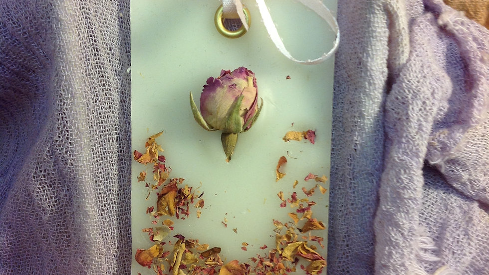 Floral and Wax Plate 3
