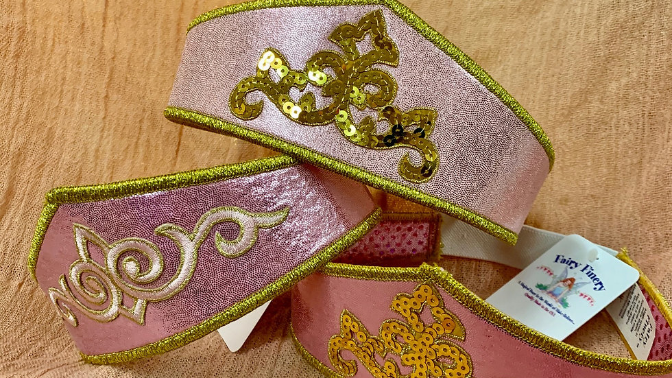Fairy Finery Crown- Pink