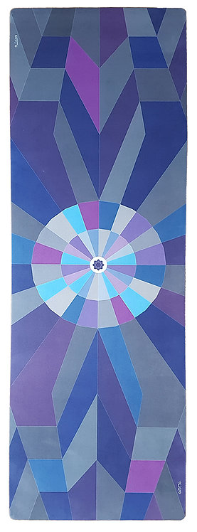 "ABSTRACT ALIGNMENT ""THE ONE"" – combo yoga mat"