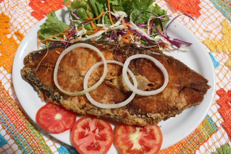 peixe frito