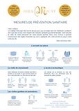 Mesures de prévention sanitaire Moncade.