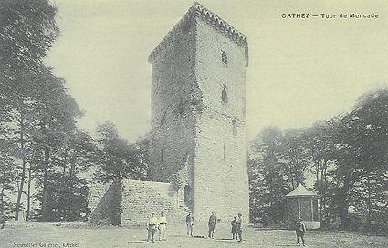 Carte postale ancienne Château Moncade