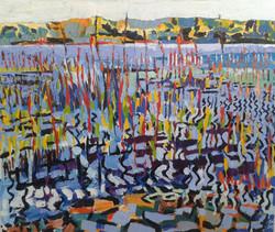 3 Barroe Lower, oil on canvas, 130cmx110