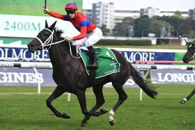 Verry Elleegant wins the Australian Oaks