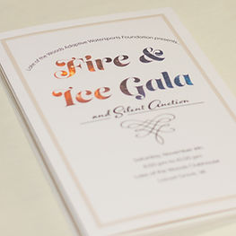 Fire and Ice Gala and Silent Auction