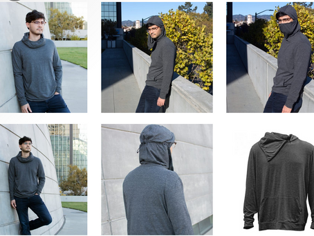Product Spotlight: Aegis Mask Hoodie by Fossa Apparel