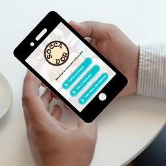 Votre client consulte votre menu sur leur telephone