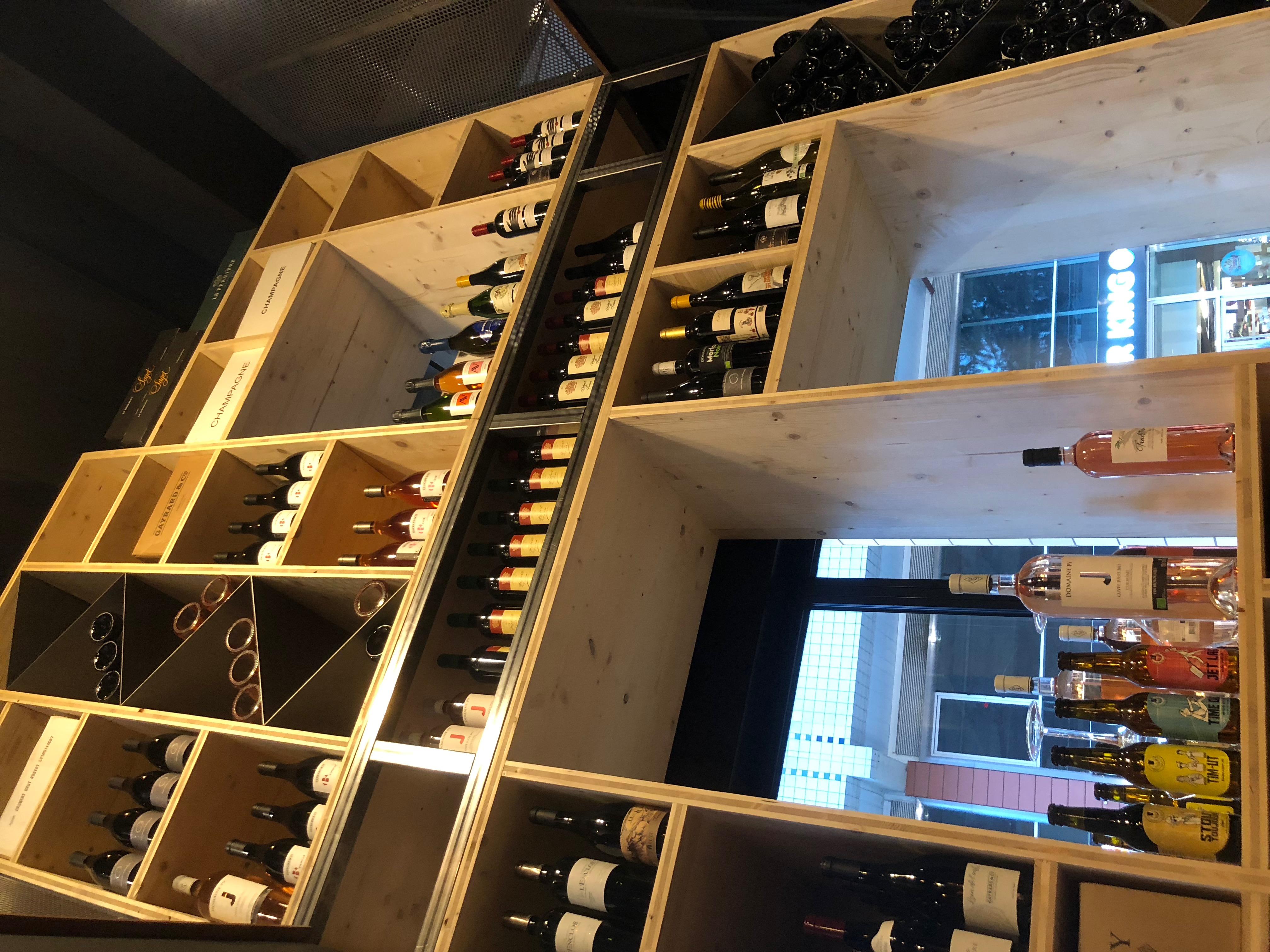 rest'o cocorico: cave à vin
