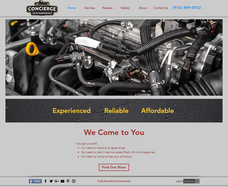 Consierge Auto Maintenance