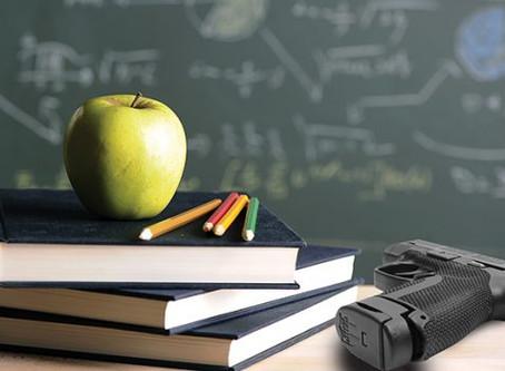 Danny Burr Says No to Guns in Schools