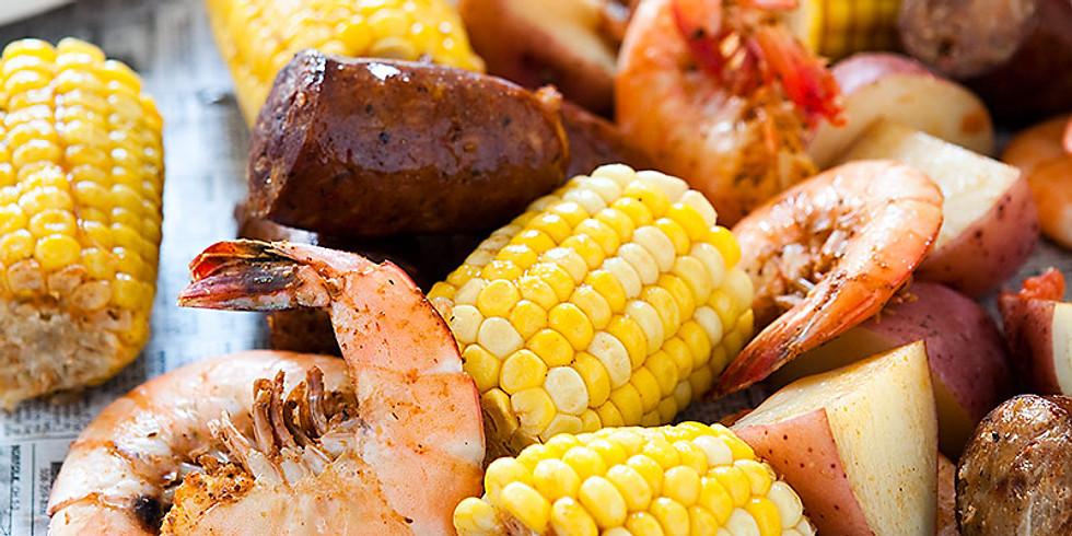 Low Country Carolina Shrimp Boil