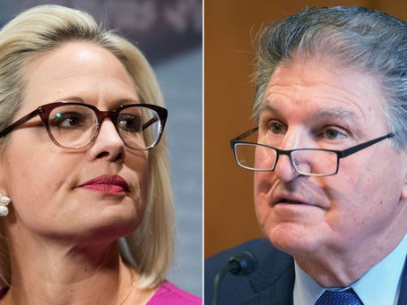 It's all up to Manchin, Sinema and YOU!