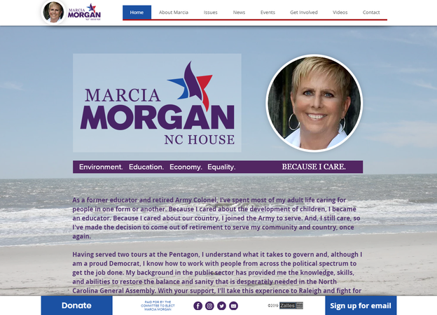 Elect Marcia Morgan