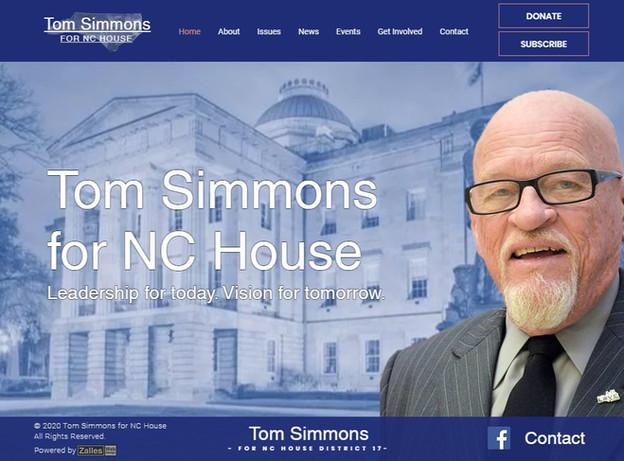 Tom Simmons for NC House