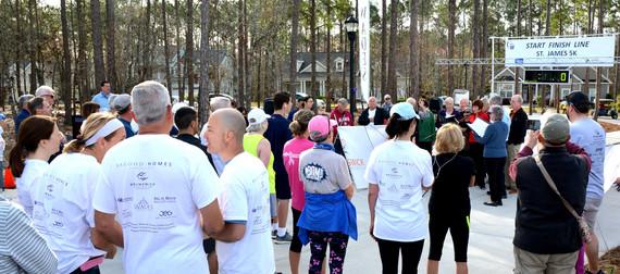Relay For Life, St. James 5K Run-Walk. 3