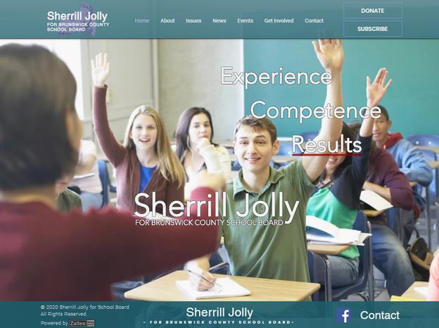 Sherrill Jolly for School Board