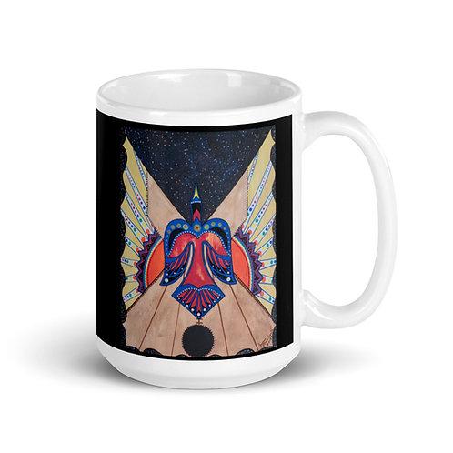 Bird Teepee Mug