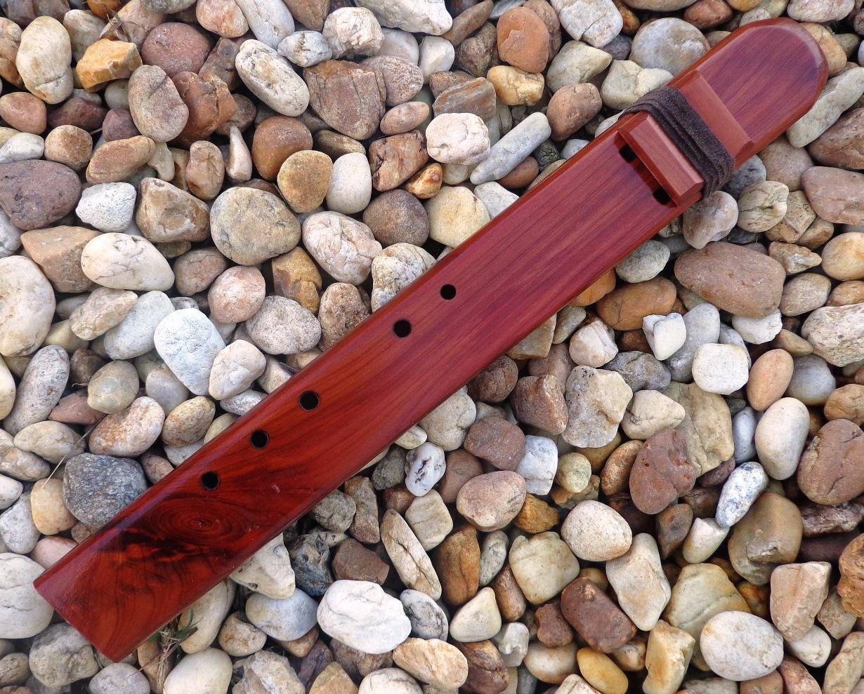 Native American Cedar Drone Flutes