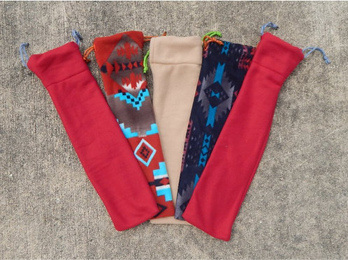 Native American Flute Bag Fleece