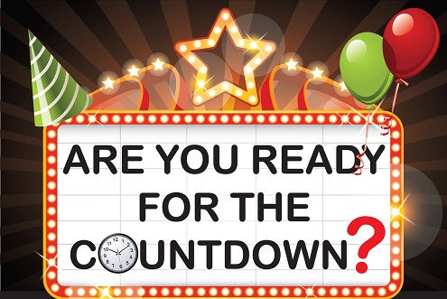 Are you ready for the countdown?