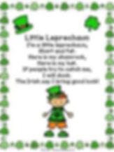Little Leprehaun Poem