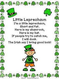 Little Leprechaun Poem