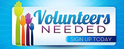 Volunteers Needed Sign-Up Today