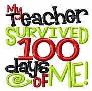 My Teache Survived 100 Days of Me!