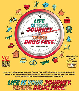 Life is Your Journey...Travel Drug Free.