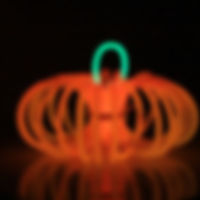Glow Stick Pumpkin
