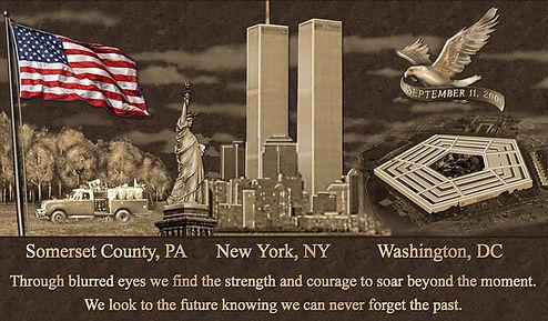9/11 Memorial Plaque