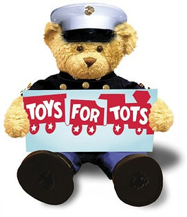 Toys for Tots Bear