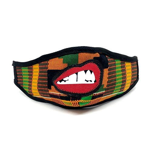 The Mandible. — ABW #FedTFUp in Kente