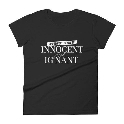 DUALITEES. -- INNOCENT + IG'NANT. (BLACK)