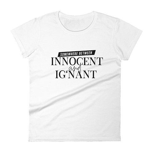 DUALITEES. -- INNOCENT + IG'NANT.