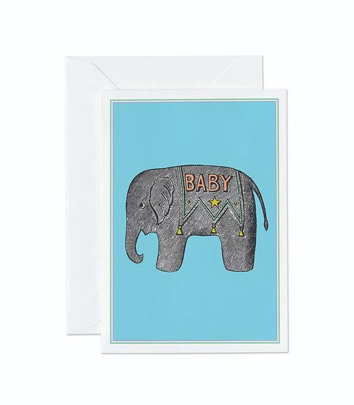 BLUE BABY ELEPHANT
