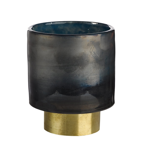 CANDLE HOLDER BELT DIFFERENT COLOURS S GREY