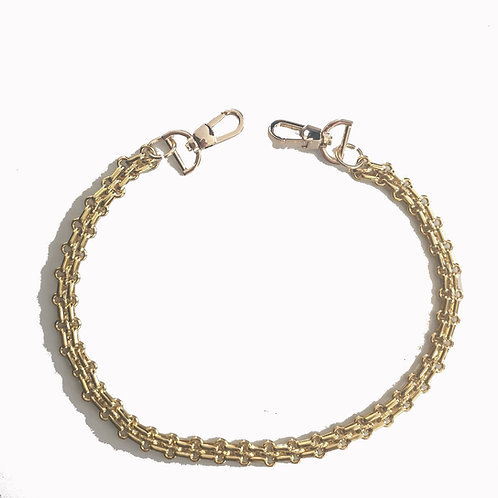 Golden Colour Chain with Hooks