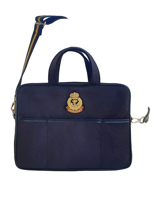 Patrimony Velvet Notebook Bag
