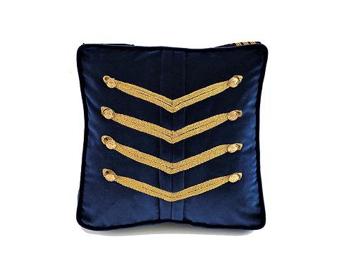 Senior Navy Trimmed