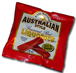 Australian Style Gourmet Red Liquorice