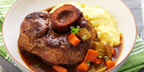 Amazing Osso Bucco In Red Wine Sauce