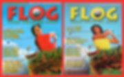 Cover of FLOG the golf parody by Thomas Hagey