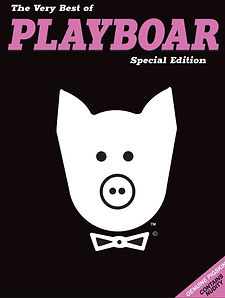 The Very Best Playboar Book - Special Edition Cover
