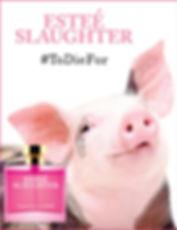 Estee Slaughter - Playboar Parody Ad