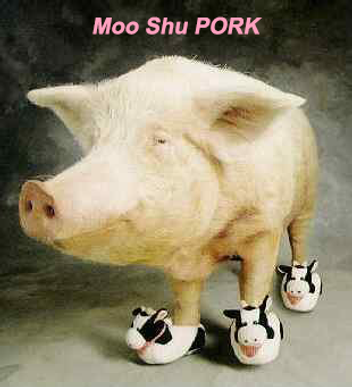 Playboar Pig Pun - Moo Shu Pork